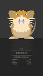 Raticate by WEAPONIX