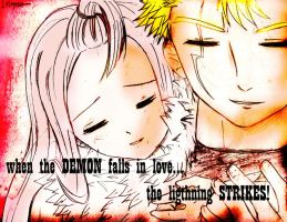 Mirajane X Laxus --- Fairy Tail by AbnusiLaw07