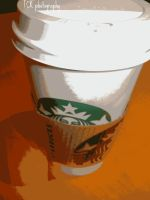 Every day Starbucks. by ASFmaggot