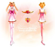 Sailor Moon: Costume design by Axsens