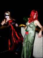 Harley + Ivy Night on the Town by anda-chan