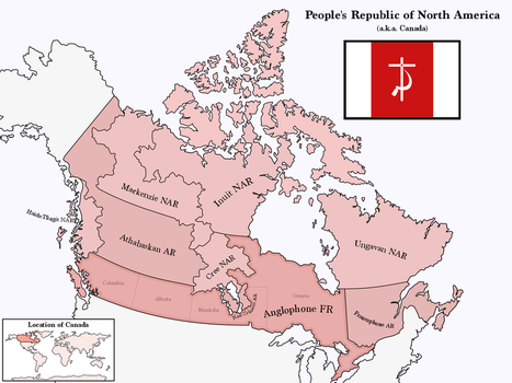 Communist Canada by Upvoteanthology