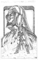 Anakin Skywalker Lord Feder by fragcomics