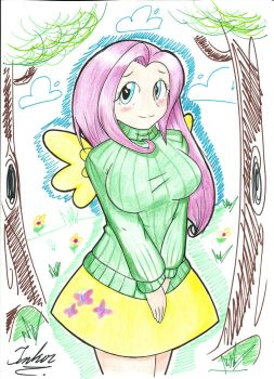 Fluttershy by TheArcano13