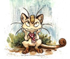 Meowth by kenket