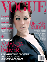 Amanda Palmer - Mock Vogue Cover by puppypatch