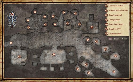 Mine Map request by Alegion