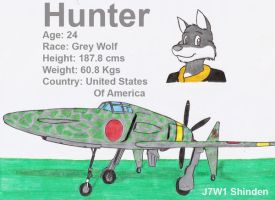 Hunter and his J7W1 by DingoPatagonico