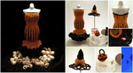 Miniature Beaded Halloween Collection by pinkythepink