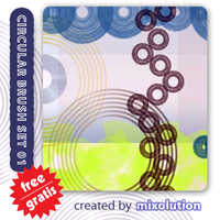 Circular Brushes 01 Mixolution by Mixolution