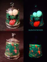 Plasma Slug Spray Can by Undead Ed Glows in the Da by Undead-Art
