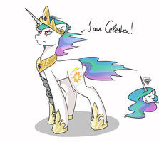 I AM CELESTIA!!! by HarmoniousRain