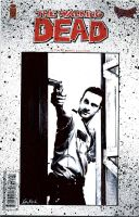 Walking Dead Sketch Cover - Rick Grimes by AstroVisionary