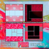 Texturas Life in Pink by FeerGmz