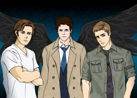 Supernatural by xxshikamaruxxluverxx