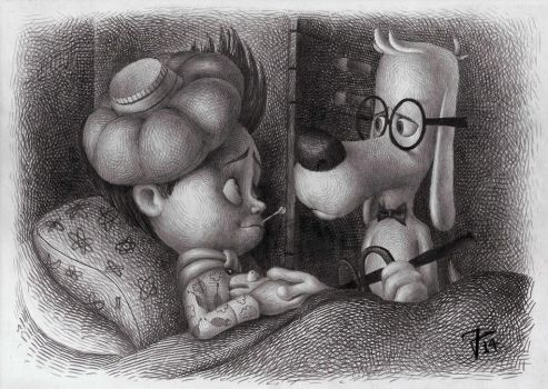 Mr. Peabody and Sherman II by nik159