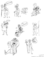 The Characters of 9 by tomahachi12