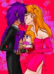 Kissing dolls by Rosette-x-Chrono