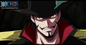 One Piece | Dracule Mihawk by xDeidar4