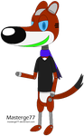 Masterge the Robot Weasel by Masterge77
