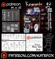 Patreon rewards #2 by Kate-FoX
