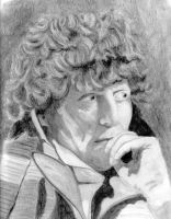 Tom Baker 4th Doctor Who by ArtHritis