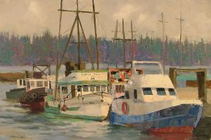 Nova Scotia Harbor by rooze23