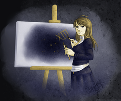 AT: Painting in the Dark by Corelia