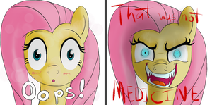 Fluttershy TF2 Spray - Oops, not medicine! by MacchiatoJolt