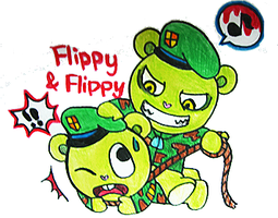 HTF Flippy vs Flippy by NYAMOMO