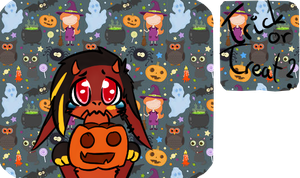 Trick Or Treat? Journalskin by smerup100
