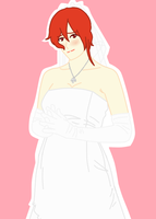 Wedding Dress by navii16