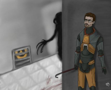 Dr. Gordon Freeman by Zuru-Kiri