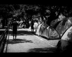 Tent City in Tel Aviv 02 by shaysapir