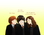 the golden trio by staelus