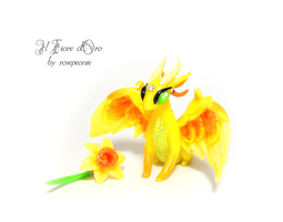 Sissi, Narcissus Dragon by rosepeonie