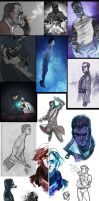 :sketchdump_024: Dishonored by ufficiosulretro