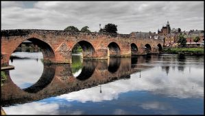 Footbridge Dumfries by sags