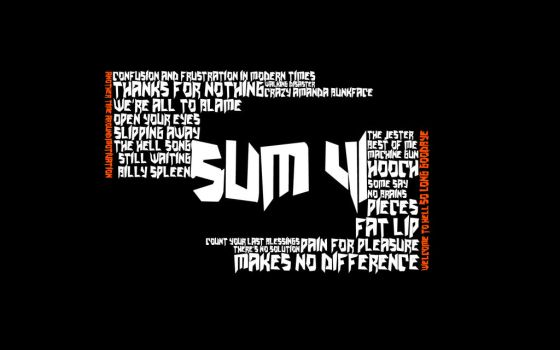 Sum 41 WP by flygaresset