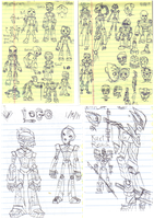Bionicle Sketches by Kintupsi