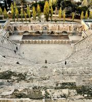 The Roman Theater of Amman II by ashamandour