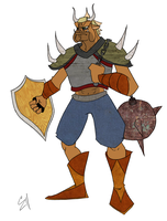 Moblin Masher by Zito-is-Neato