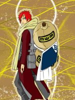 Gaara, The Kazekage by grivitt