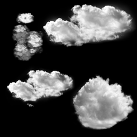 Cloud Brushes by Ludez