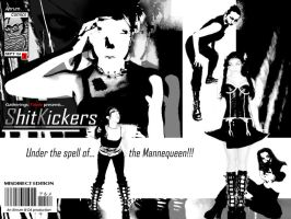 Shit Kickers Comic Cover II by Ahrum