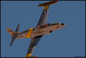 T-33 Ace Maker II High speed pass. by AirshowDave