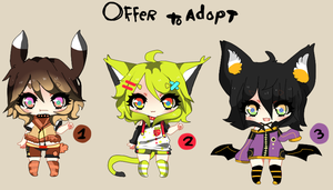 Kemonomimi Shotas! - Offer to adopt 1 -CLOSED by Ayuki-Shura-Nyan