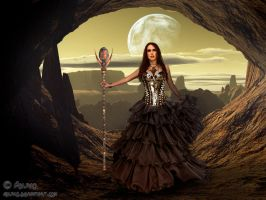 Queen of earth by adunio