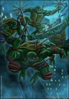 Teenage Mutant Ninja Turtles by diabolumberto