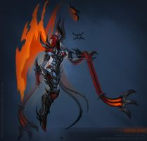 Demonic Auriel concept by FirstKeeper